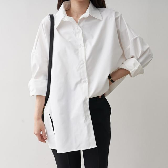 Big Size 55-120 Nolly Silk Shirt Shirt