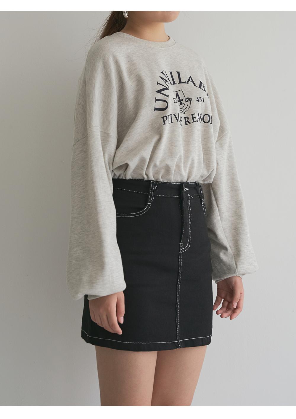 Essential lettering modern Sweatshirt big size 66-120