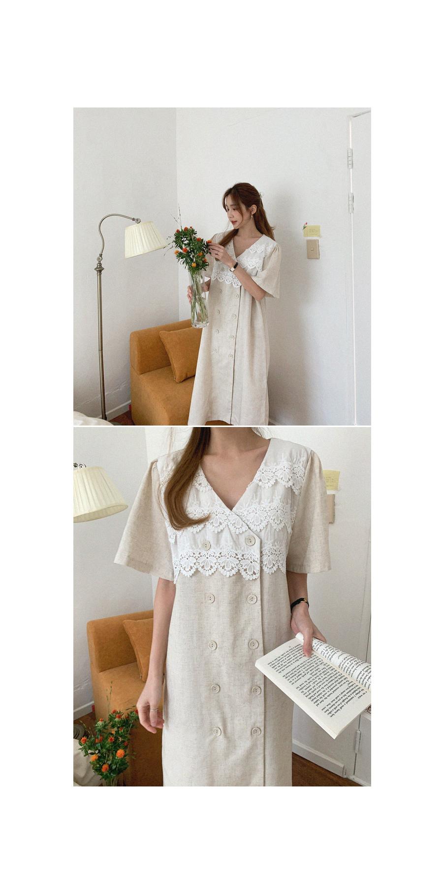 Subtle charm lace Dress