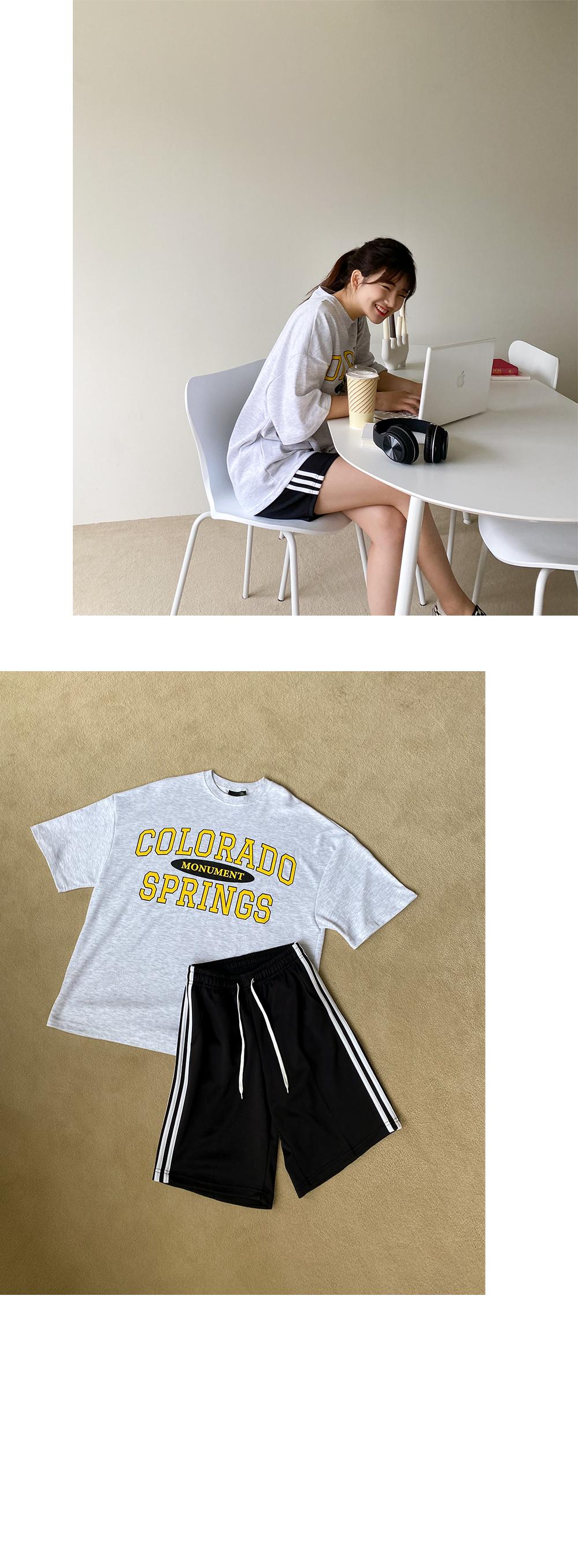 Big 55-120 Springs Overfit Cotton T-shirt