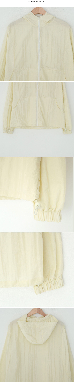 Carol String Summer Hooded Jacket