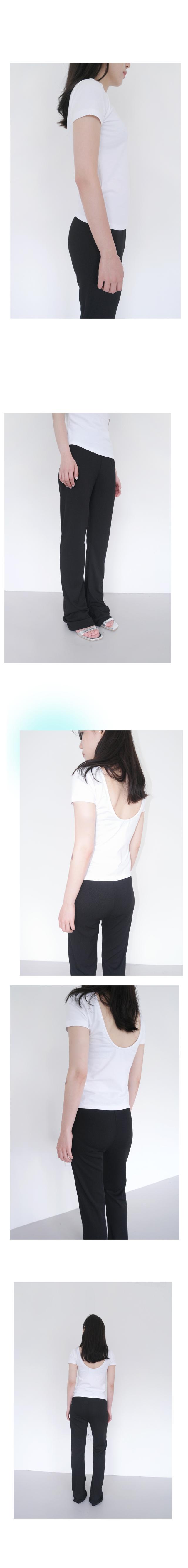 back oval design T