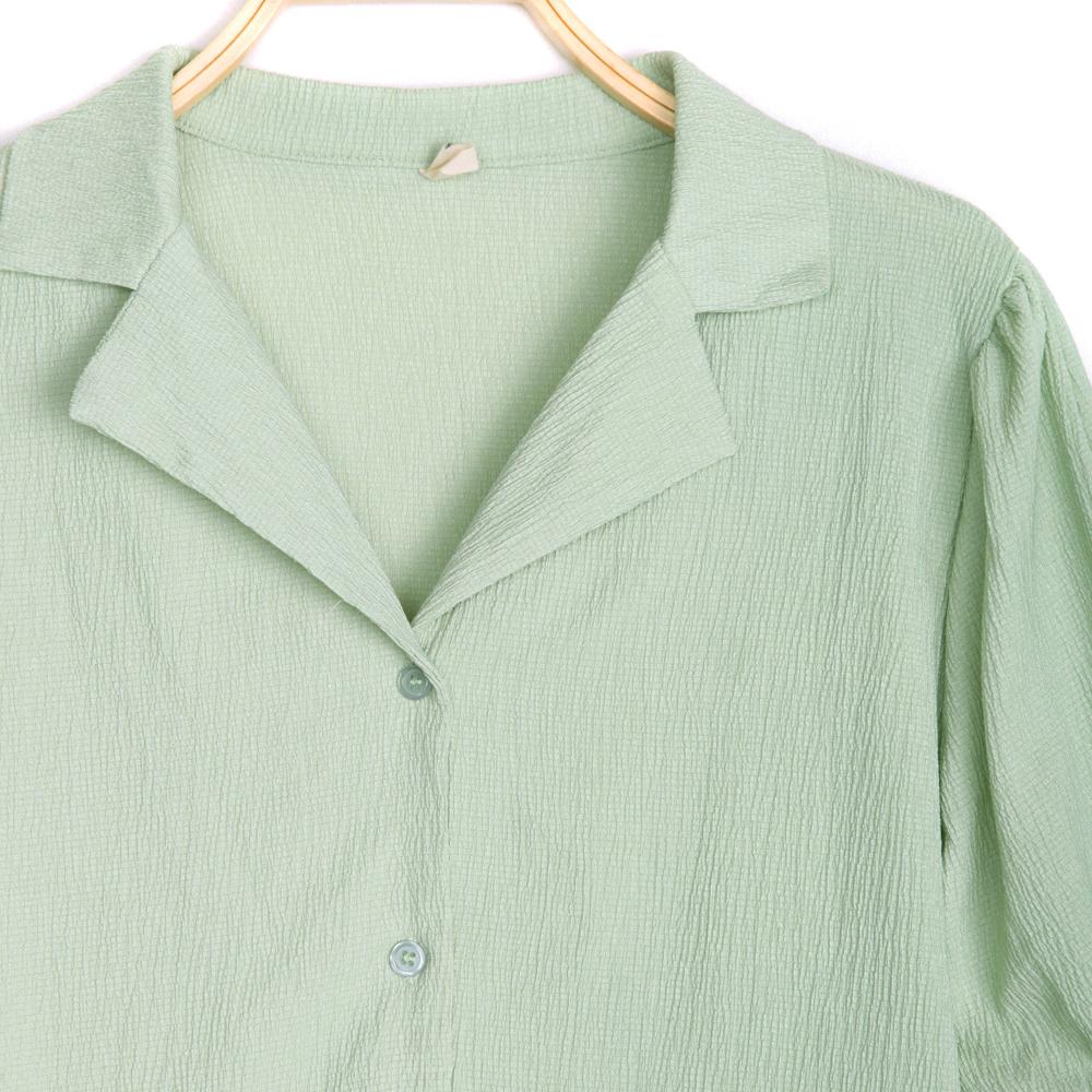 chamo collar neck blouse