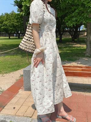 Mud Flower Dress
