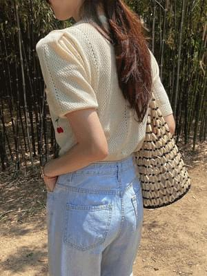 Cherry Crop Knitwear
