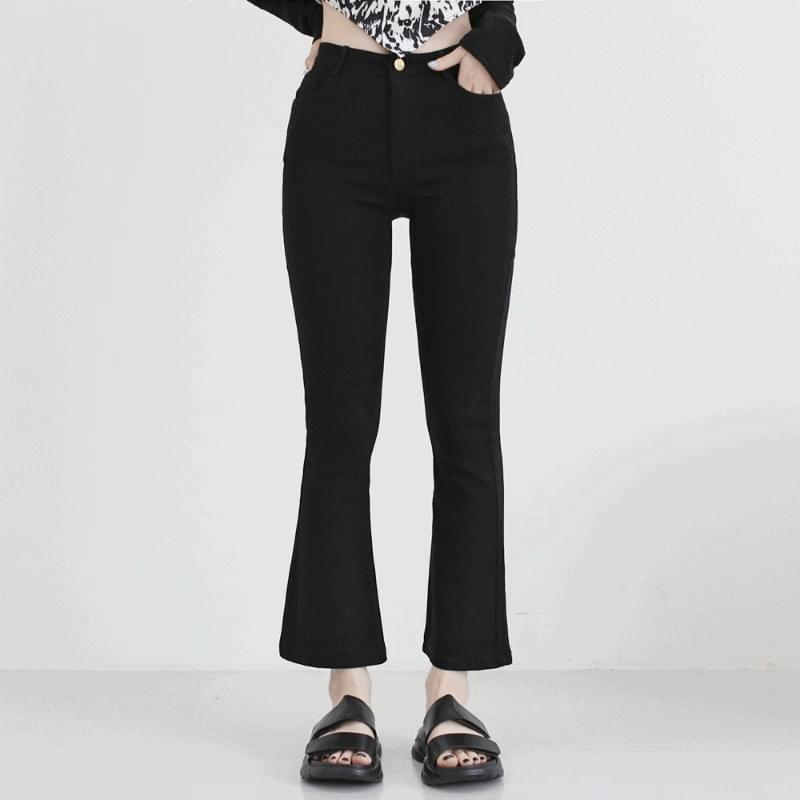buzz Spandex Flared trousers