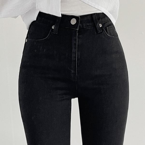 Black Basic Skinny Pants