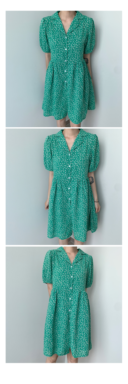 Daisy color mini Dress