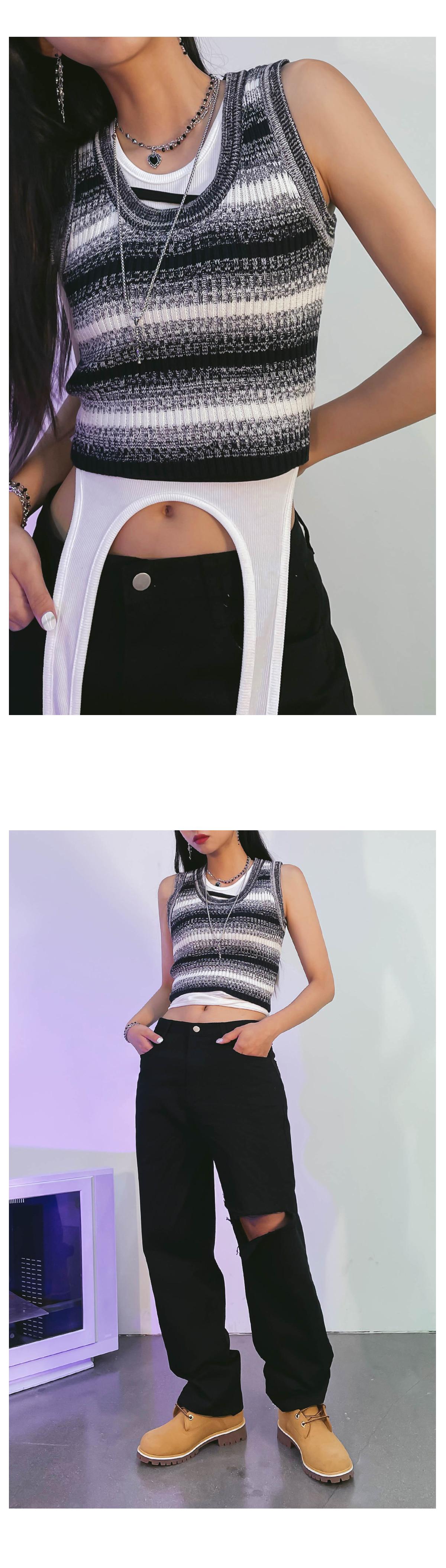 Striped Warner Knitwear