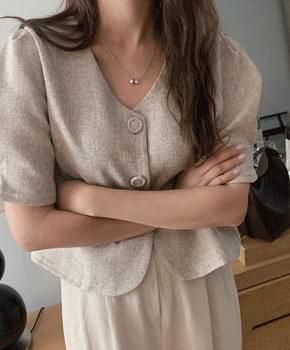 Pincha no-kara short-sleeved jacket