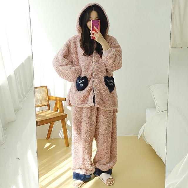 Lovett Hooded Pajama Set
