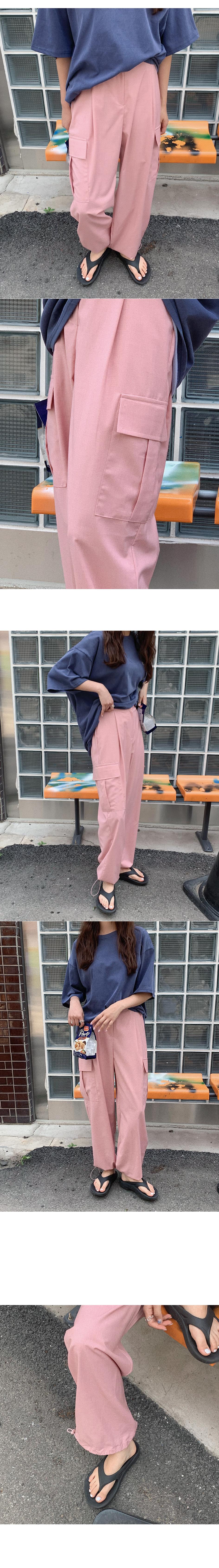 Como string pocket pants