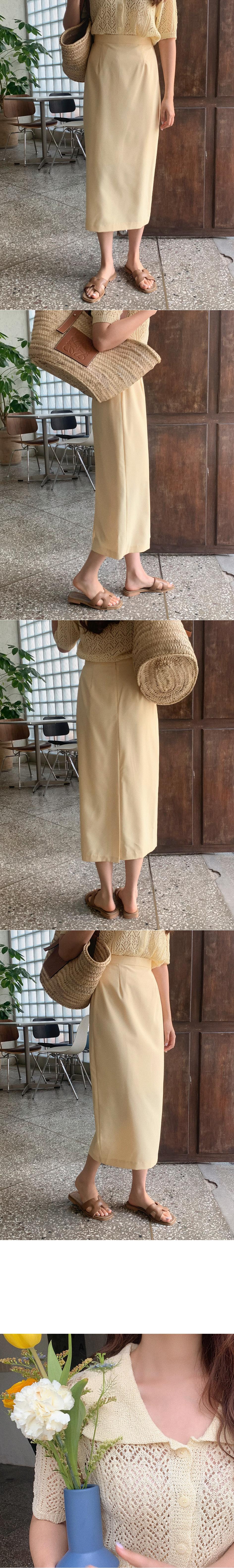 pebble skirt cardigan
