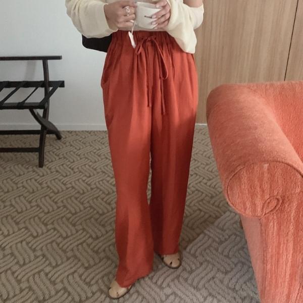 Labilli Linen Banding Pants