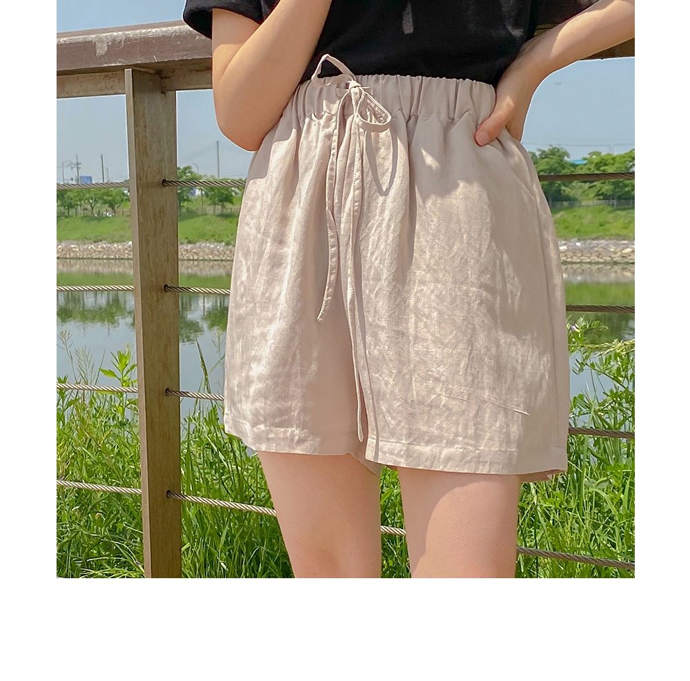 Big Size 26-34 Inch Summer Basic Banding Short Pants