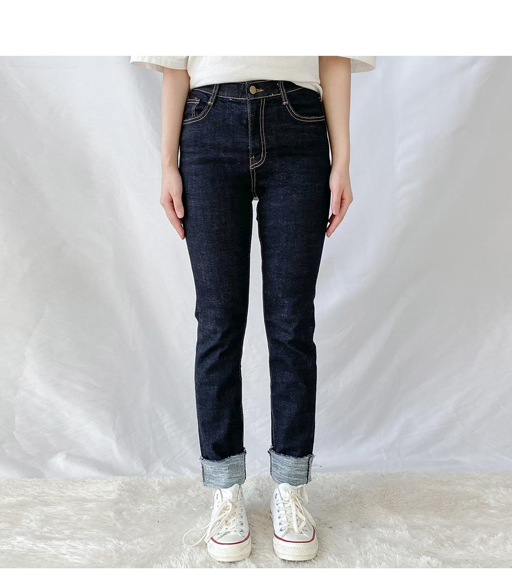 Big Size 26-38 Inch Bare Raw Straight Denim Pants
