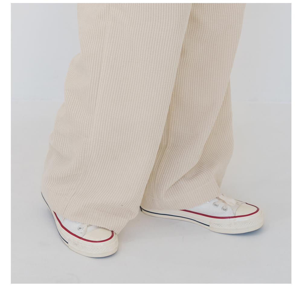 26-38 Inch Snow Golden Wide Long Pants