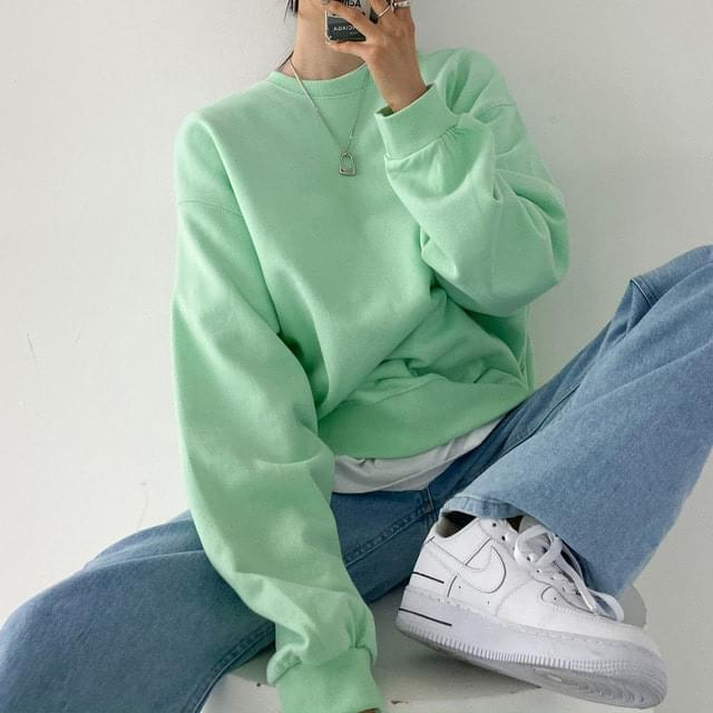 Big Size 55-99 dandelion jelly pastel Sweatshirt