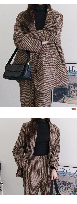 Big size 55-120 terry pad Boxy jacket
