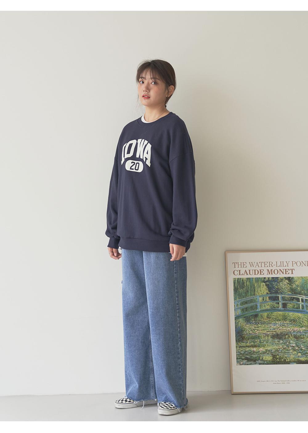 Iowa Loose-fit Sweatshirt big size 66-99