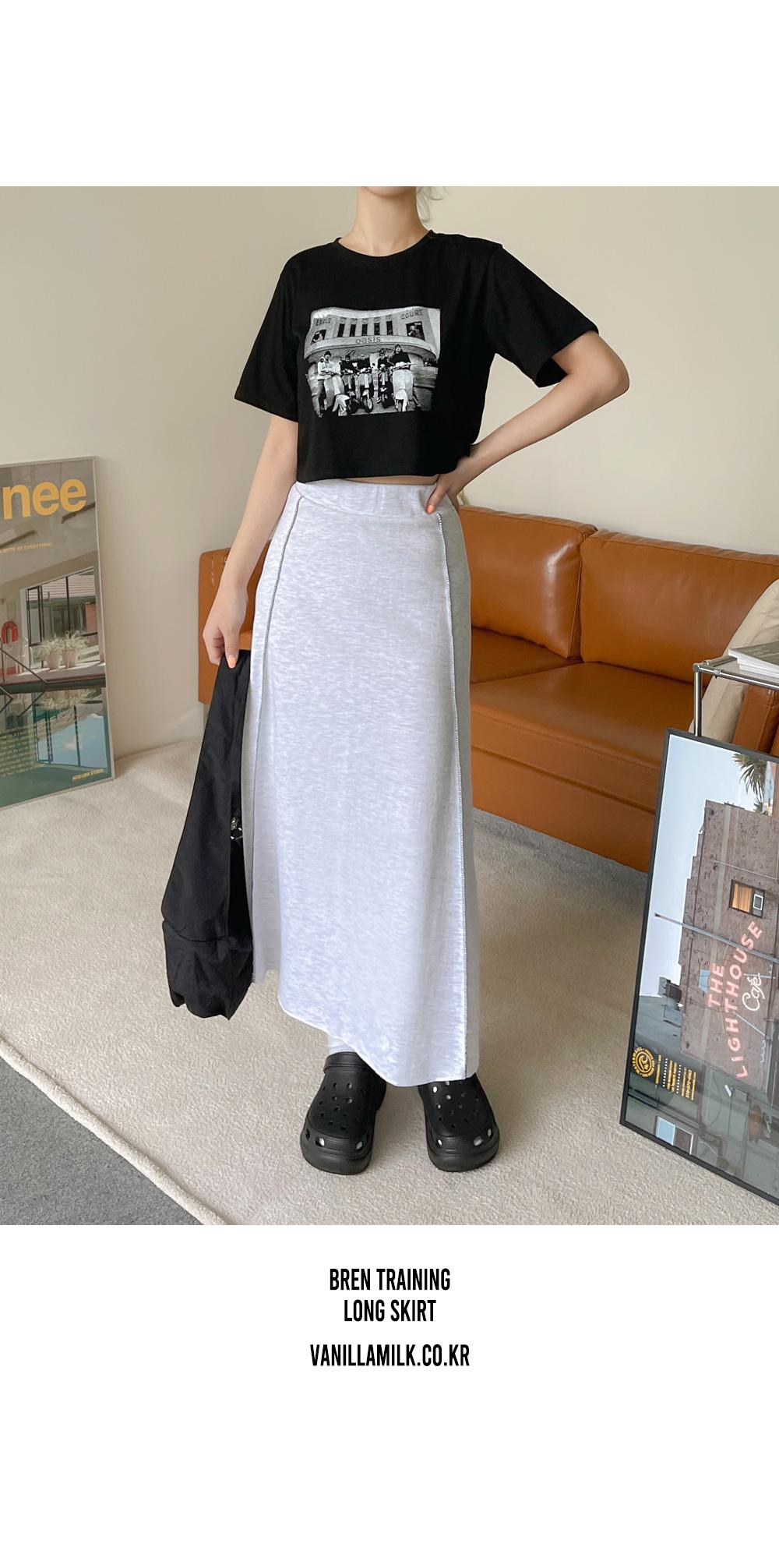 Bren Training Banding Long Skirt