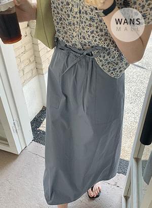 sk4933 antho string summer long skirt