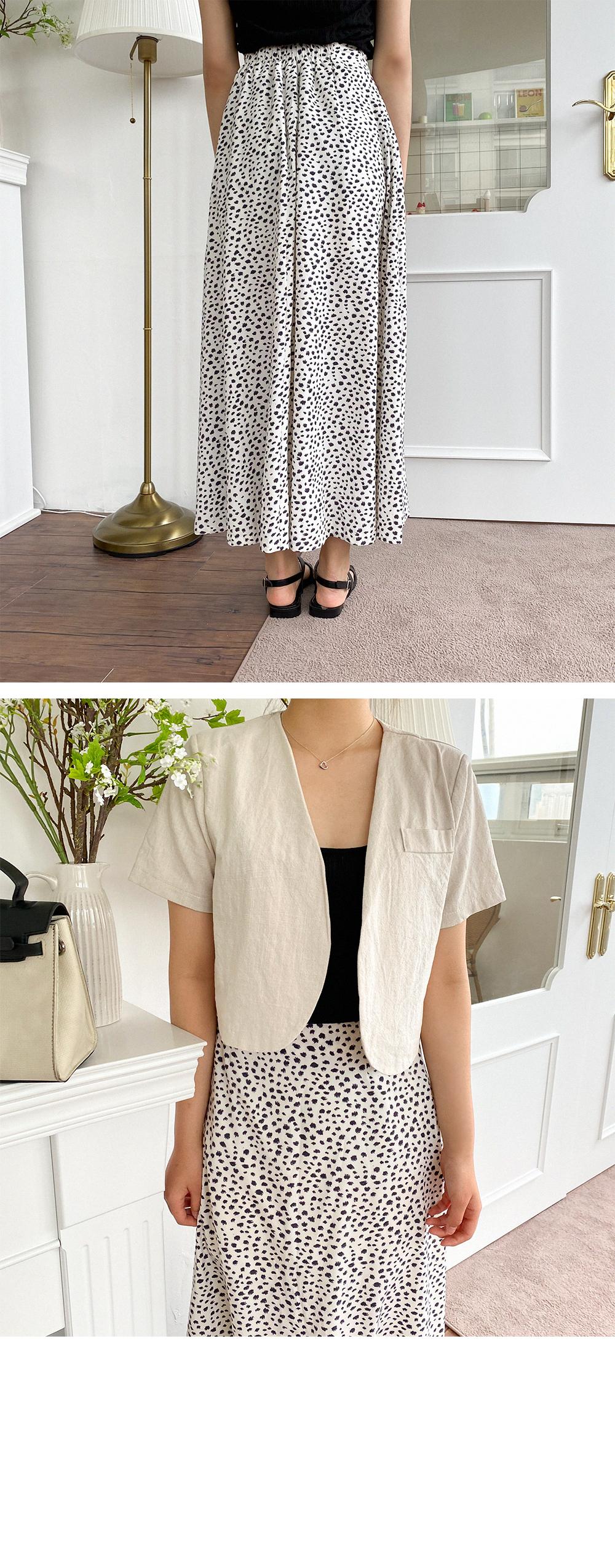 26-34 Inch Shilo Banding Maxi Skirt