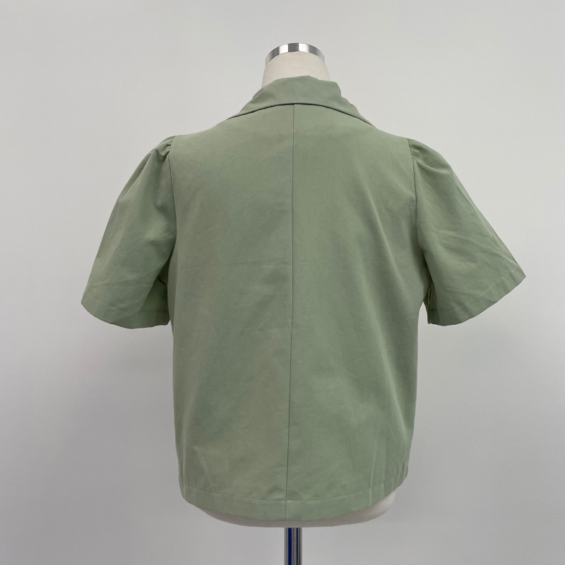 jk4828 planning short sleeve jacket