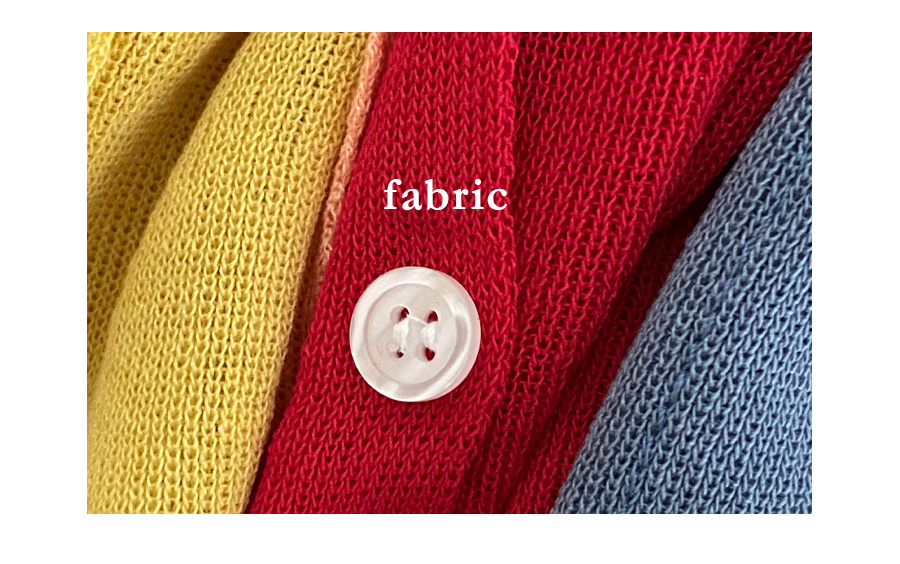 Able Daily Button Knitwear Sleeveless