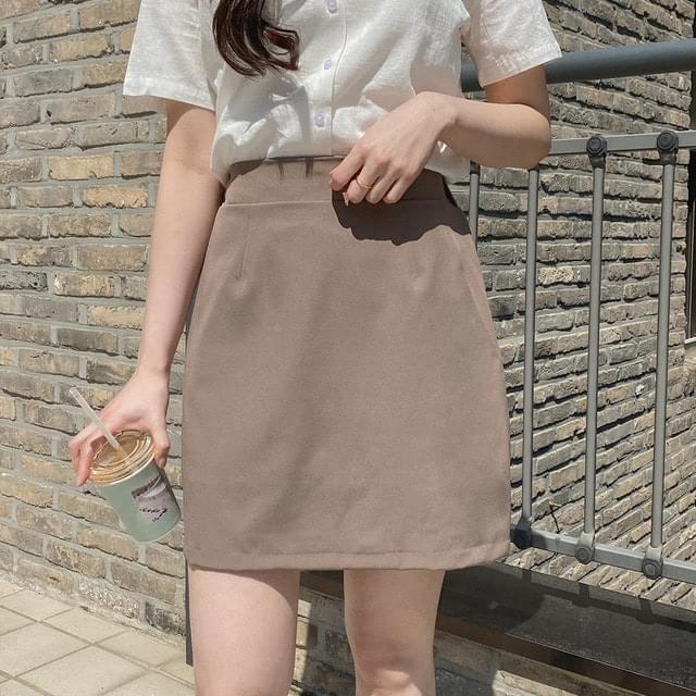 Big Size 26-30 Inch Jenny Banding Mini Skirt