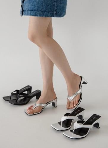 Ridge Square Short Mules Sandals SDLTS2d163