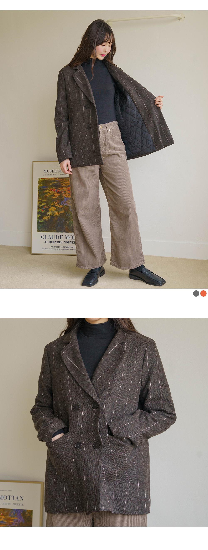mocha wool jacket
