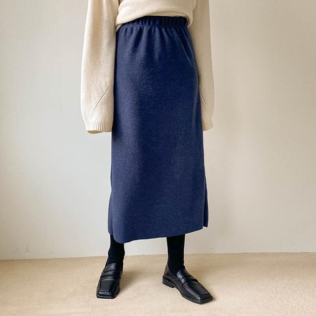 Cotton Candy Long Banding Skirt