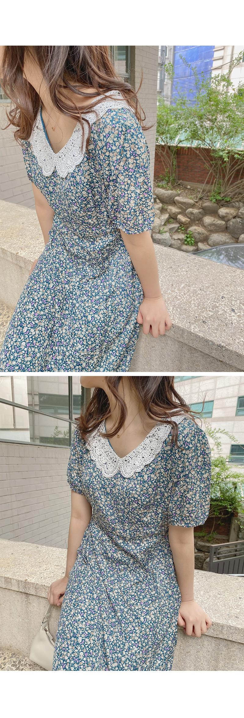 Big Size 66-120 Laura Lace Long Dress