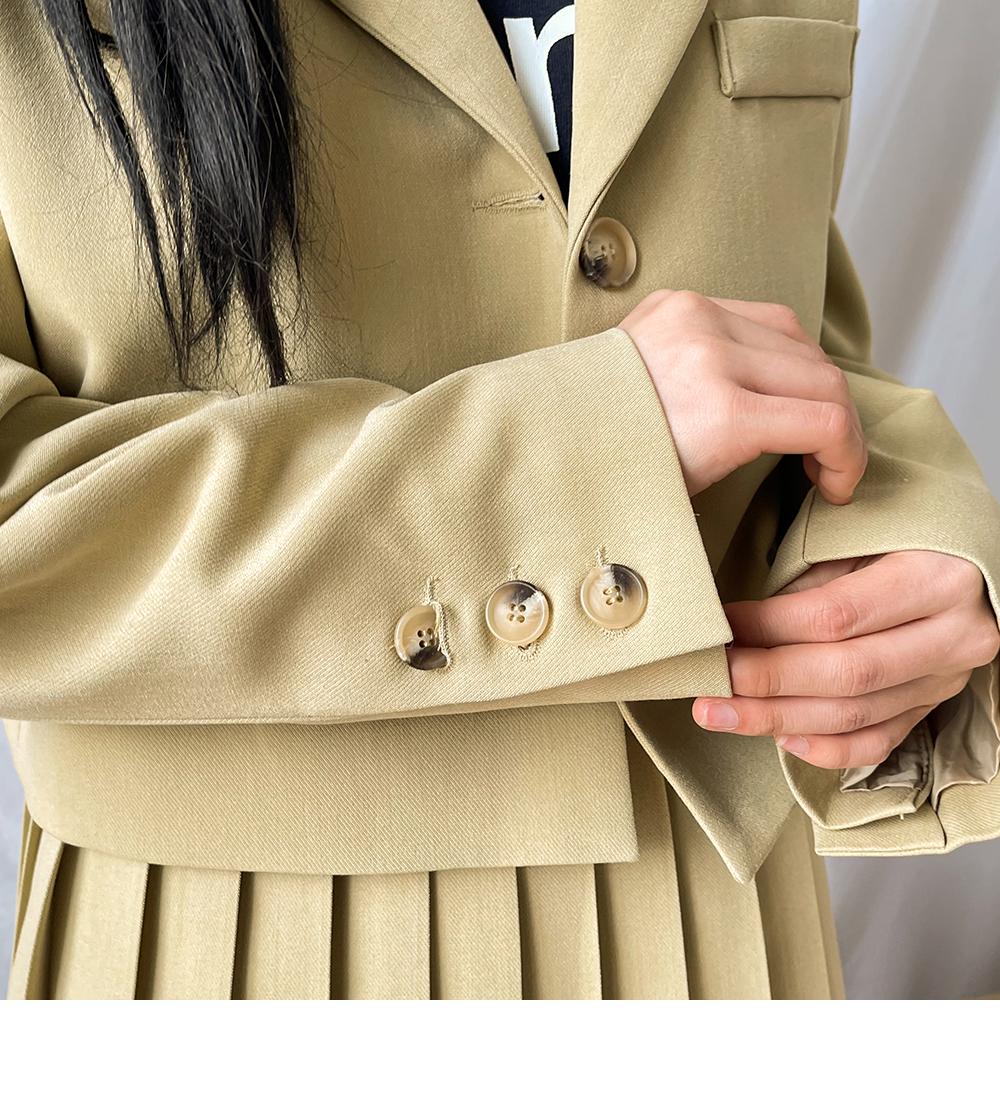 more collar short jacket