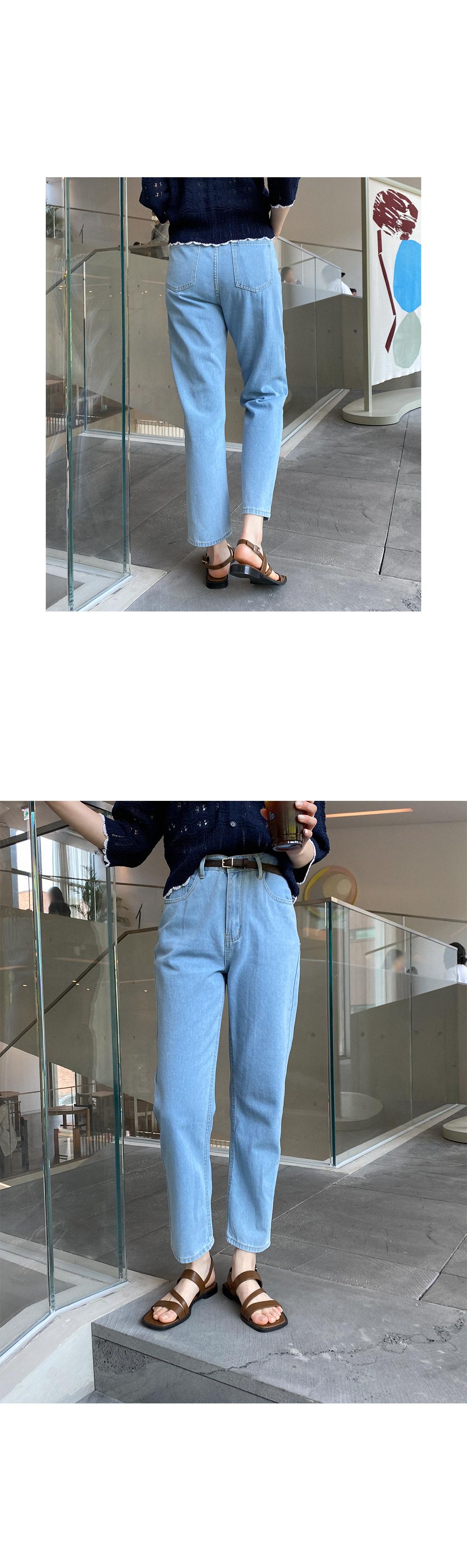 Big 26-34 Inch Dorothy Straight Denim Pants