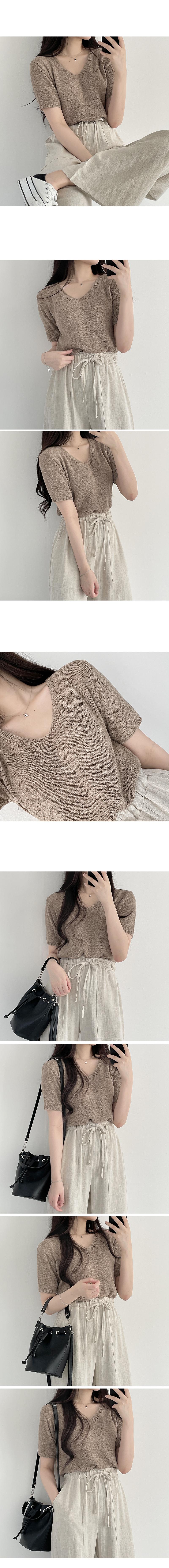 Ringsome Short Sleeve Knitwear