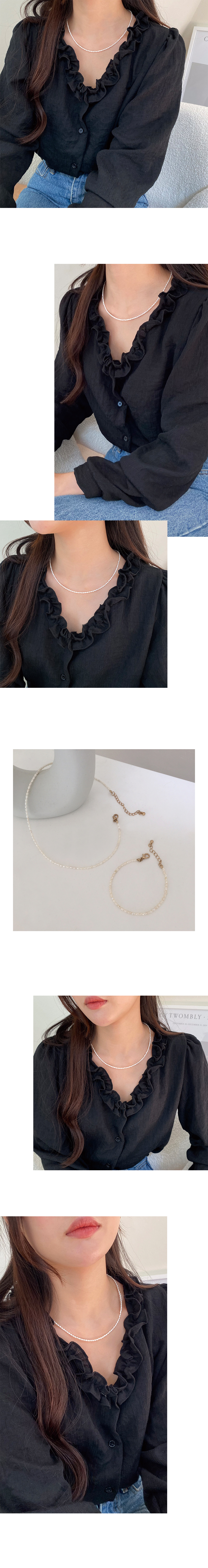 rice pearl necklace