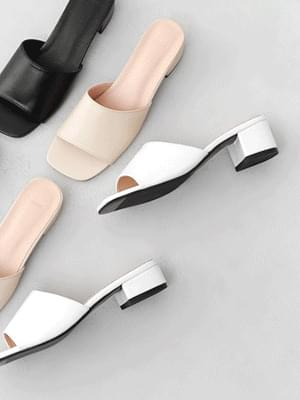 Basic mule heel slippers 9140