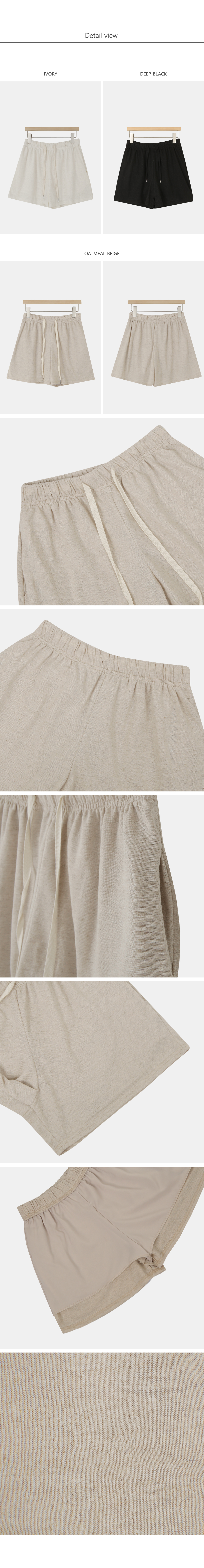 Bijou Linen Banding Pants