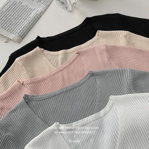 ANB Ribbed Knitwear