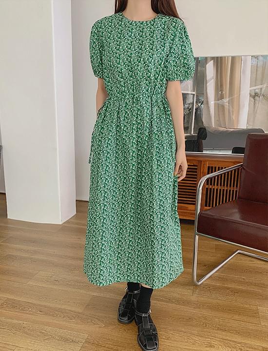 Malm String Printing Dress