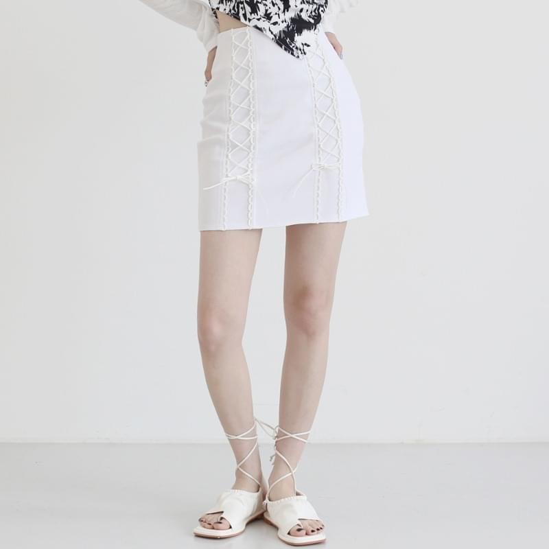 air corset mini skirt