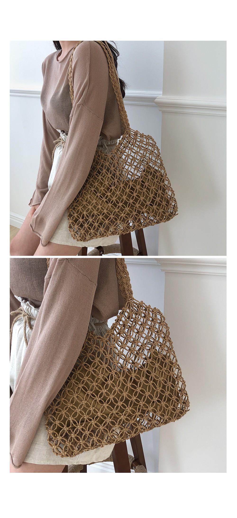 Half Price See-through Long Sleeve Knitwear