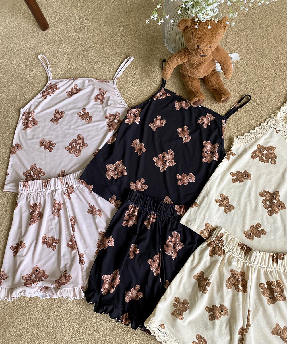 Teddy Sleeveless Pajama Set