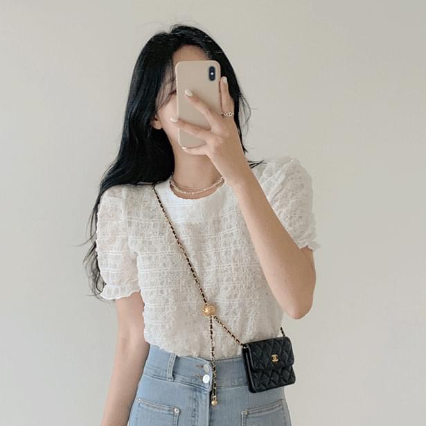 Flur Wrinkle Puff blouse 襯衫