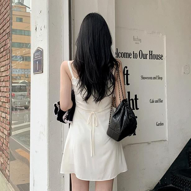 Moody bustier mini ops 迷你短洋裝