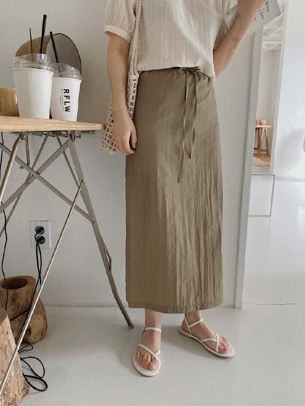 bene string long skirt