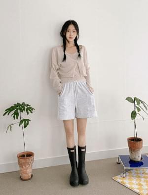 Loca A-line banding short pants
