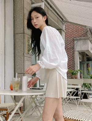 Room and Wide Knitwear Short Pants